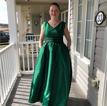 7408ffb8875c4 The wind wasn't cooperating but I do love this gorgeous dress from @eshakti  every dress from them is just perfect for me.