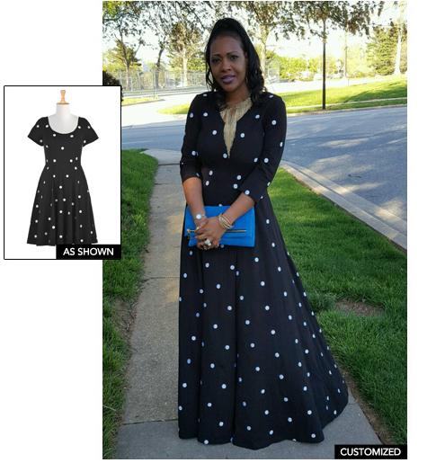 Eshakti dresses as worn by customer images